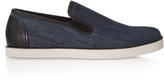 Bottega Veneta Slip-on denim trainers