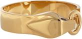 Saint Laurent Serpent brass bracelet