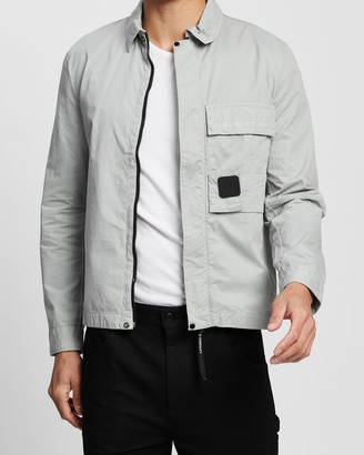 C.P. Company Velcro Patch Overshirt