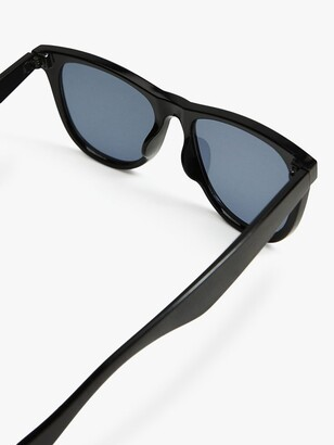 MANGO Women's Round Frame Sunglasses