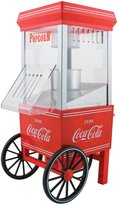 Nostalgia Electrics Coca-Cola Series Hot Air Popcorn Maker - Red