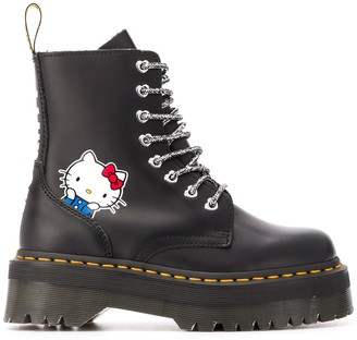 Dr. Martens Hello Kitty platform boots