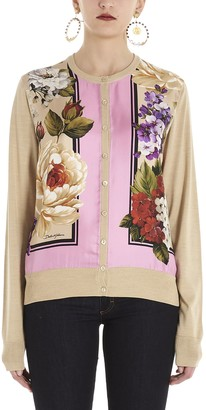 Dolce & Gabbana Floral Cardigan