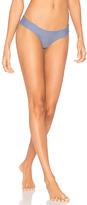 Luli Fama Cosita Buena Reversible Buns Out Bikini Bottom in Blue. - size L (also in S,XS)