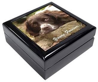 Springer Spaniel Dog 'Yours Forever' Keepsake/Jewellery Box Christmas Gift