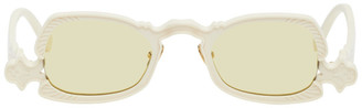 Grey Ant Off-White Arsenic Oval Sunglasses