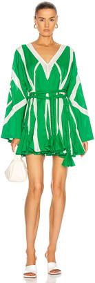 Rhode Resort Cara Dress in Green | FWRD