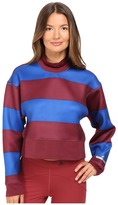 adidas by Stella McCartney Run Striped Sweatshirt AZ7694 Women's Sweatshirt