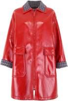 Bottega Veneta Glossy Zipped Coat