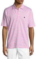 Brooks Brothers Lux Strap Self Collar Polo