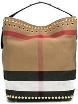 Burberry 'Ashby' tote - women - Leather/Canvas - One Size