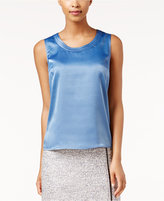 Kasper Charmeuse Sleeveless Shell