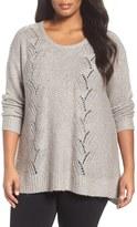 NYDJ Plus Size Women's Sequin Sweater