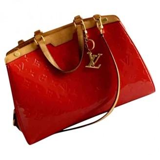 Louis Vuitton Brea Red Patent leather Handbags