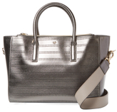 Anya Hindmarch Ebury Small Perforated Leather Tote