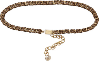 Dolce & Gabbana Walnut Chain Belt