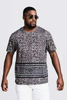 Big & Tall Animal Print T-Shirt