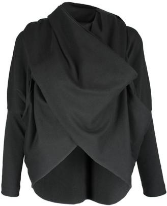 Format LOOP Black Interlock Cardigan - XS-S - Black