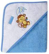 Luvable Friends Umbrella Animal Hooded Towel - Woven Terry