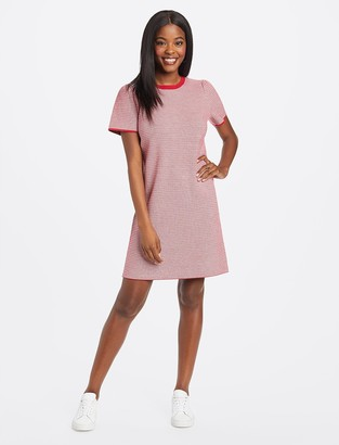 Draper James Textured Shift Sweater Dress