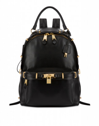 Moschino Calfskin Backpack Lock