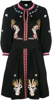 Temperley London Peacock mini dress