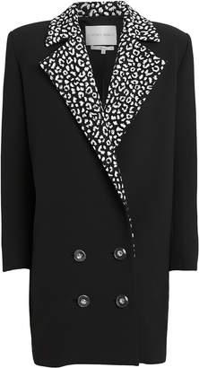 Carmen March Leopard Lapel Suiting Blazer