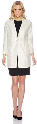 Oui Short Coat - White - UK