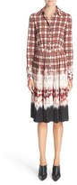 Altuzarra Women's Maria Plaid Shirtdress