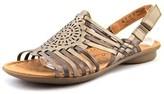 Naturalizer Wendy W Open-toe Leather Slingback Sandal.