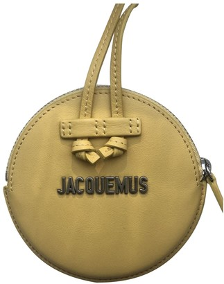 Jacquemus Yellow Leather Small bags, wallets & cases