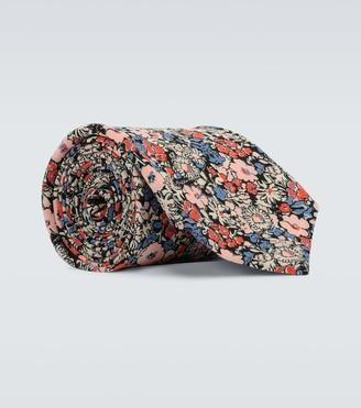 Gucci Liberty floral silk crepe tie