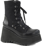 Demonia Scene 50 Lace-Up Platform Ankle Boot (Women's)