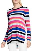 Vince Camuto Women's Multistripe Sweater