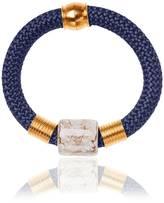 Iris Statement Bangle Bracelet Ceramic Stone Marble