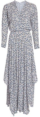 Poupette St Barth Ilona Floral Flounce Maxi Dress