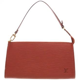 Louis Vuitton Pochette Accessoire Brown Leather Clutch bags