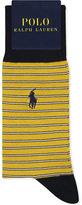 Polo Ralph Lauren Pony Striped Egyptian Cotton Socks