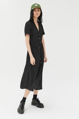 Urban Outfitters Mila Midi Shirt Dress
