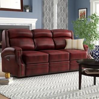 Hooker Furniture Carlisle Leather Sofa
