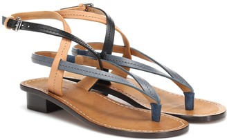 Isabel Marant Jeony leather sandals