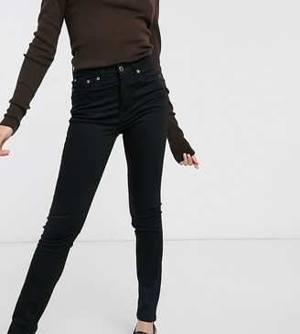 Weekday Thursday organic cotton skinny jean in black