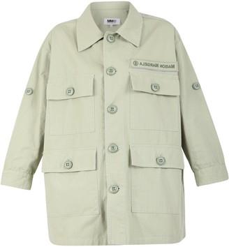 MM6 MAISON MARGIELA Multi Pocket Buttoned Shirt Jacket