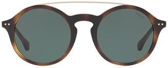 Polo Ralph Lauren Pilot Round Frame Sunglasses