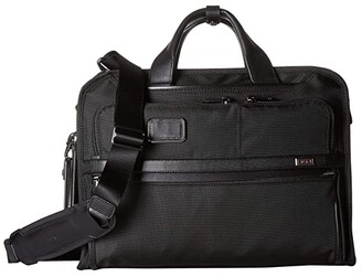 Tumi Alpha 3 Slim Three-Way Brief (Black) Luggage