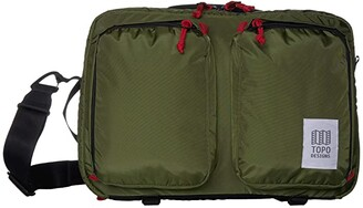 Topo Designs Global Briefcase 3-Day (Olive) Bags