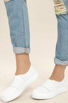Steve Madden Glenn-M Black Mesh Flatform Sneakers