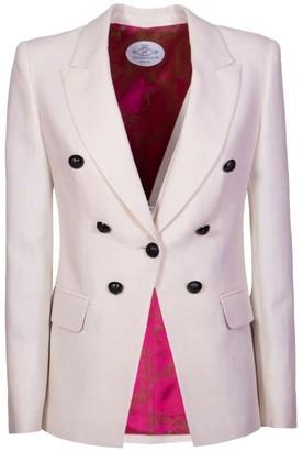 The Extreme Collection White Blazer Fabiana