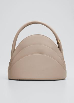 Gabo Guzzo Millefoglie S Mini Leather Top-Handle Bag