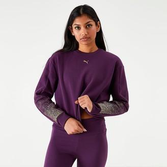 Puma Women's Crop Sweatshirt